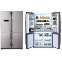 Beko SIDE BY SIDE GNE114612X 182X92 A+