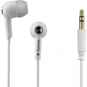 Auriculares Hama 177033 IN 4 BLANCO