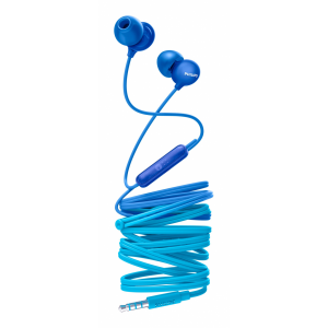 Auriculares Philips intrauditivos con micro SHE2405BL/00