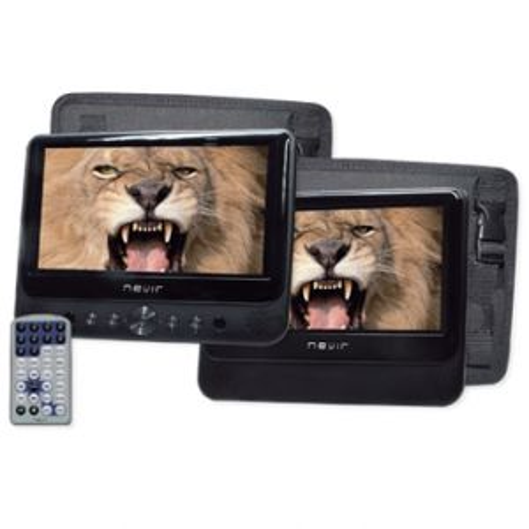 Reproductor DVD portátil Nevir NVR2777PDCU DOBLE PANTALLA