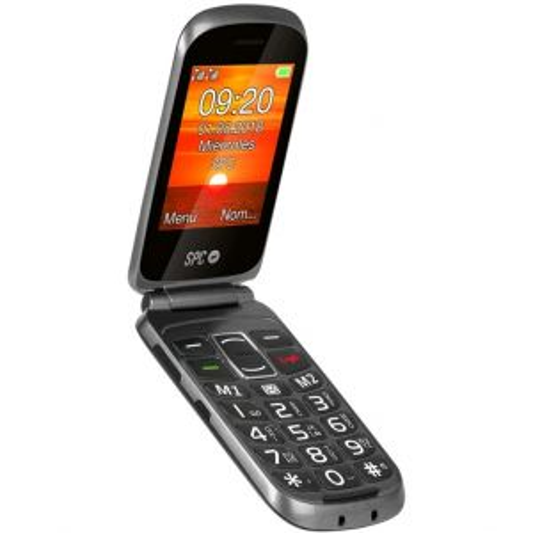 Teléfono Spc internet SPC 2312N GOLIATH TECLAS GRANDES NEGRO