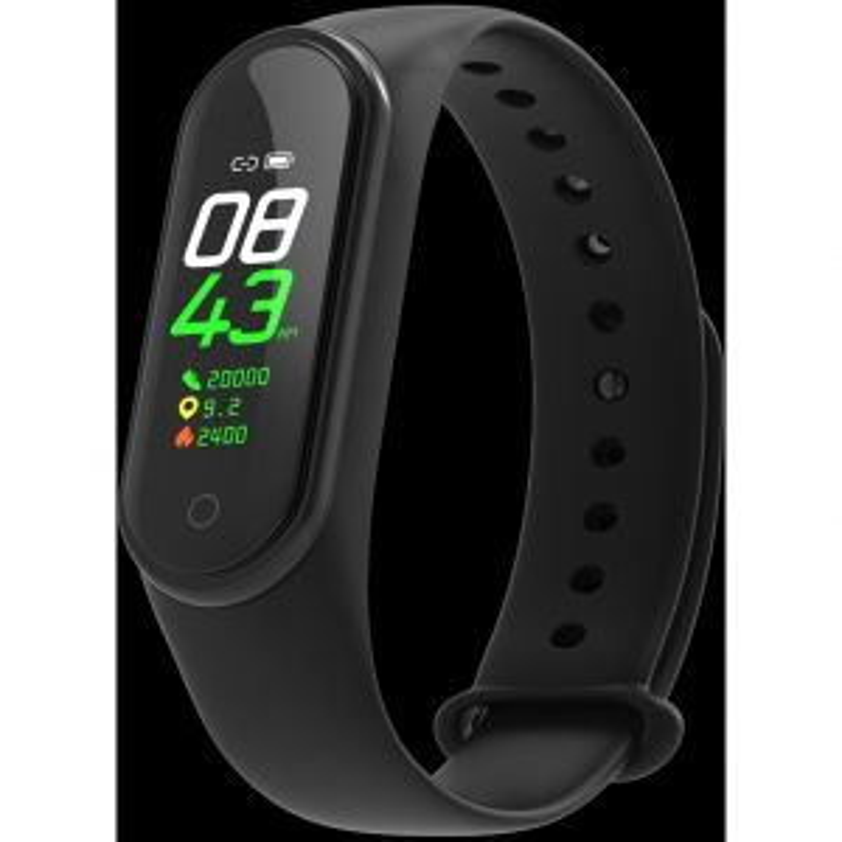 Smartwatch DCU DEPORTIVA 34158000 ACTIVIDAD NEGRA