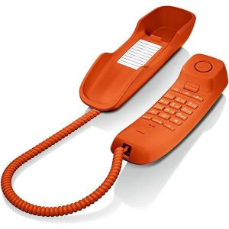 Teléfono Gigaset DA210NARANJA