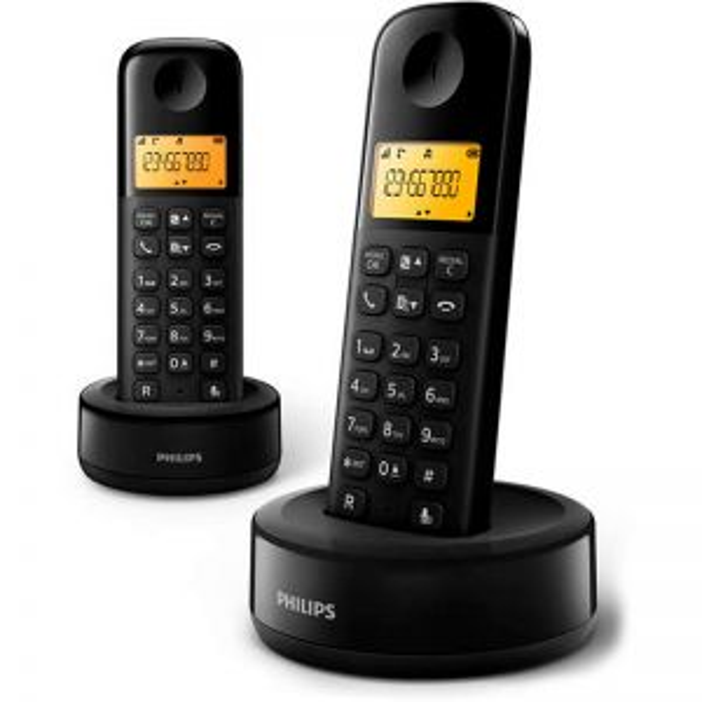 Teléfono Brigmton PHILIPS D1602B DUO