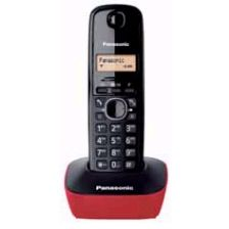 Teléfono Panasonic KX-TG1611SPR ROJO