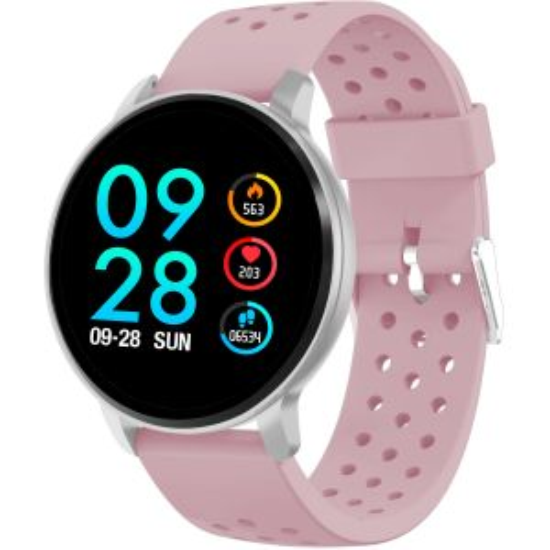 Smartwatch Denver Electronics SW-170 reloj inteligente Plata IPS 3,3 cm (1.3