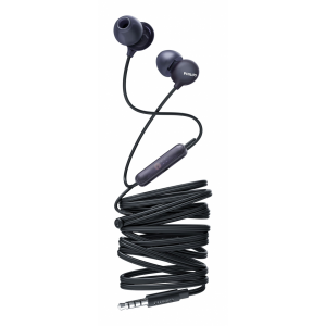 Auriculares Philips intrauditivos con micro SHE2405BK/00