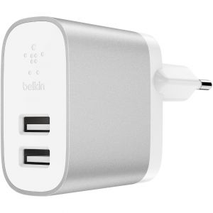 Cargador Belkin RED 2 USB 24W BOOST CHARGER