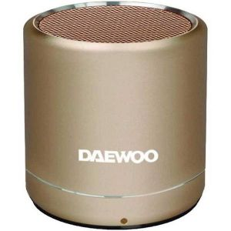 Altavoz Daewoo marron DAEWOO DBT-212 GOLD SINGLE