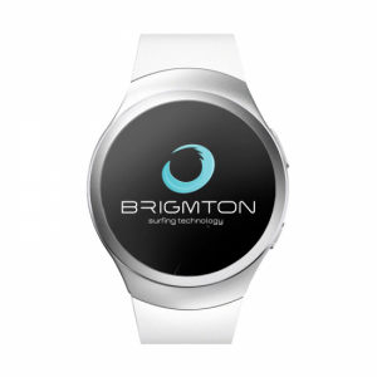 Brigmton RELOJ SMART BWATCH-BT5-B BLANCO TELEFONO