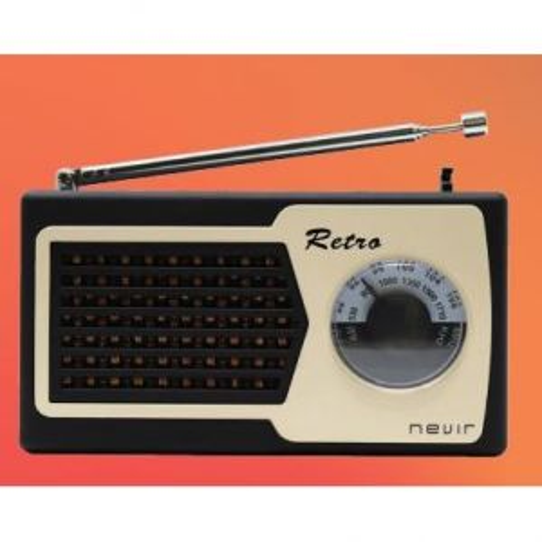 Nevir RADIO NVR-200 RETRO FM/AM NEGRO