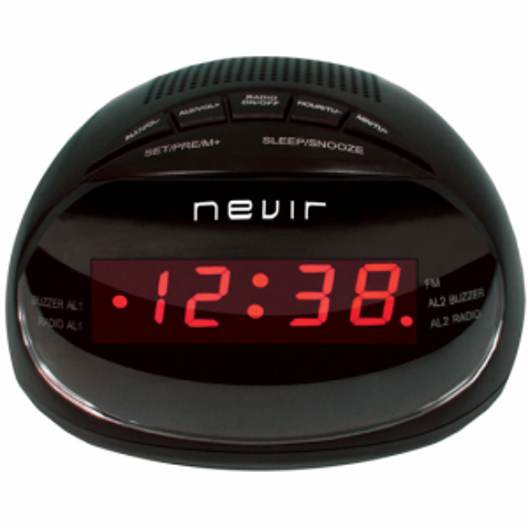 Nevir RADIO RELOJ NVR333DD